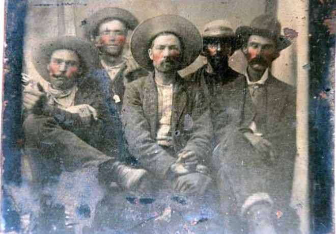 Asheville Flea Market Find is a Photo of Billy the Kid and His FutureKiller
