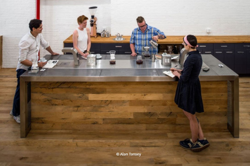 The Perfect Brew at Counter Culture Coffee's Training Center, DowntownAsheville