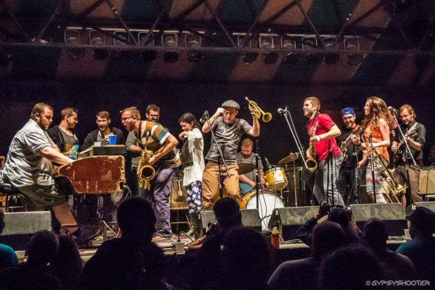 Afrobeat Explosion! Big Mean Sound Machine With MHU Big Band and DJ Marley Carroll at Asheville Music Hall,12.2
