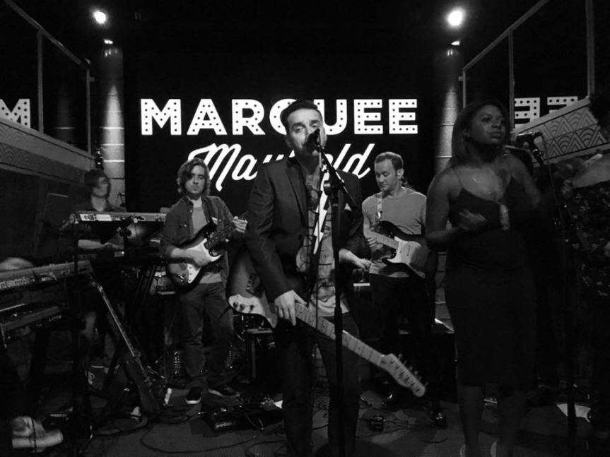 Nashville-based, funk/disco group, Marquee Mayfield at The One Stop, Asheville, January12