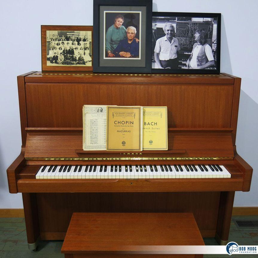 "Asheville Musicians Invited to Play Bob Moog's Baby Grand. Bob Moog Foundation Shares Legacy Through ""A Song For Bob'sPiano"""