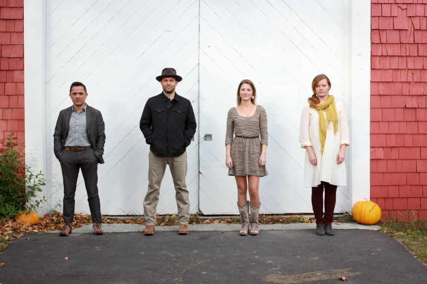 Celtic Americana Band Josephine County plays Isis Music Hall, Asheville, May10